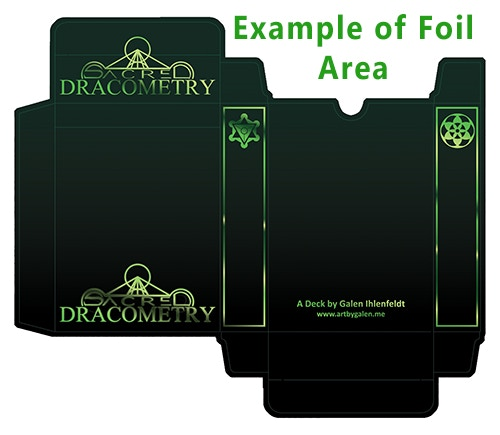 If we pass our stretch goal, all decks will upgrade to foiled tuck boxes!