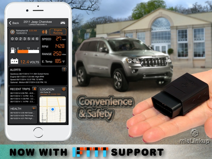 Smart Car, OBD, Dual-Mode Long Range Bluetooth, GPS/GNSS Tracker, NFC and more.  Works with free iOS and Android Apps. No Monthly Fees.