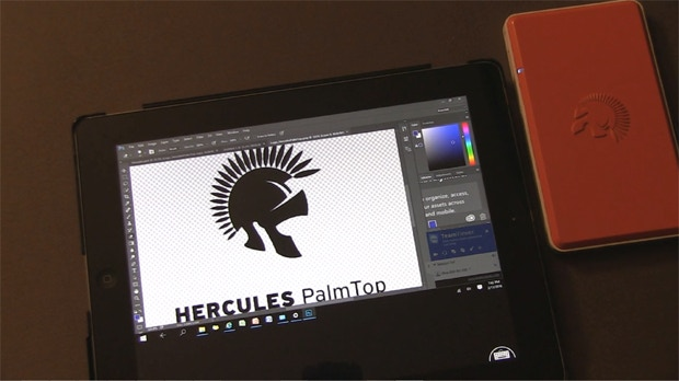 hercules palmtop palm size mobile pc of invincible resources by hercules computing kickstarter. Black Bedroom Furniture Sets. Home Design Ideas