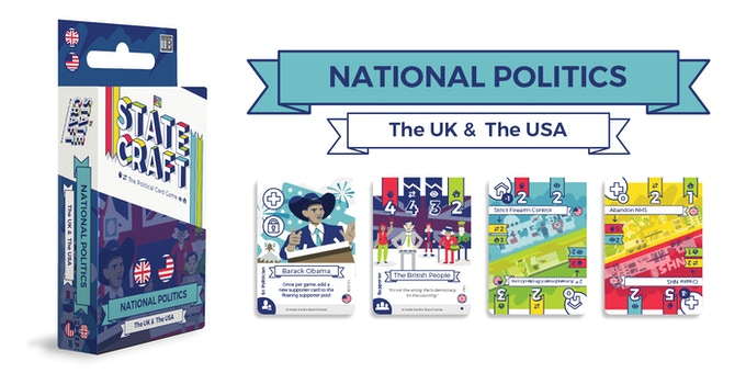 Field characters like Barack Obama and Margaret Thatcher, and announce policies like the NHS and drop strikes, with the National Politics: UK and the USA expansion