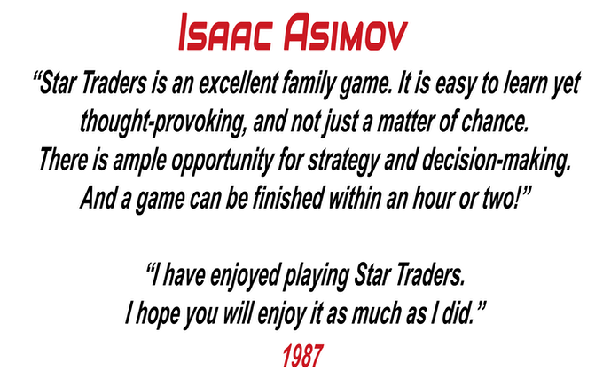 the space traders summary