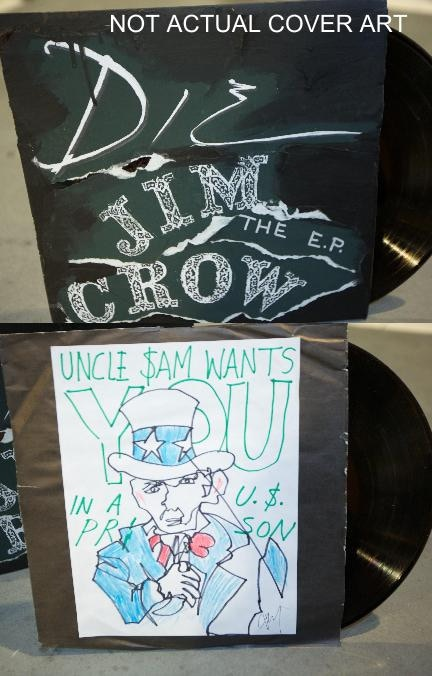 Die Jim Crow EP Limited Edition Vinyl