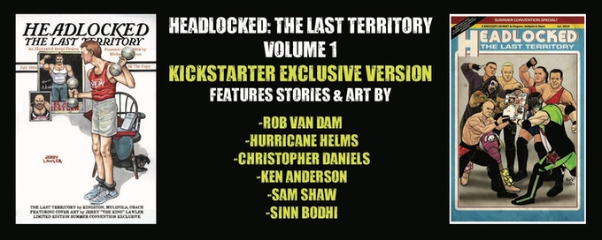 Headlocked: The Last Territory Volume 1