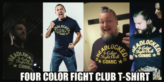 Four Color Fight Club T-Shirt