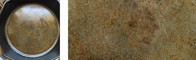 CNC milled surface: does not take seasoning