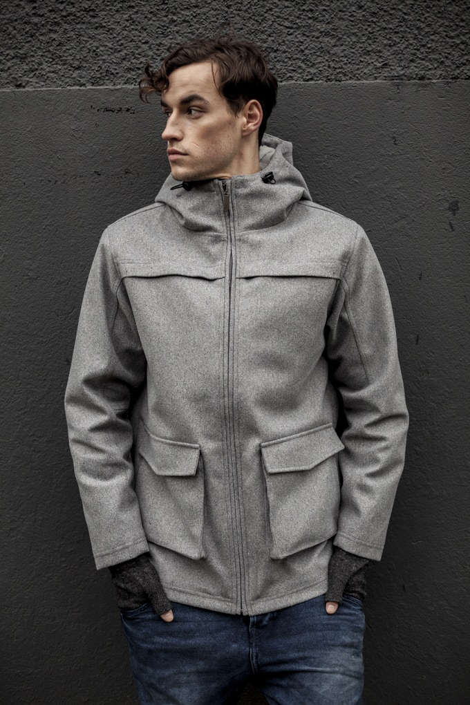 OMO Journey Jacket in Light Grey