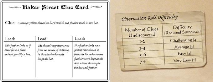 A Clue Card