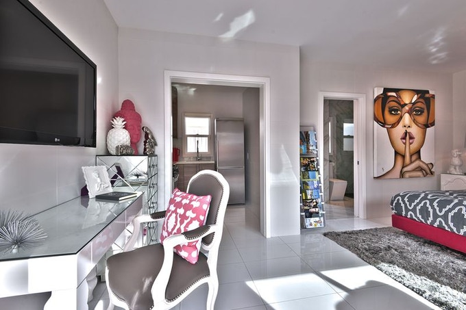 The Pink and Silver Suite