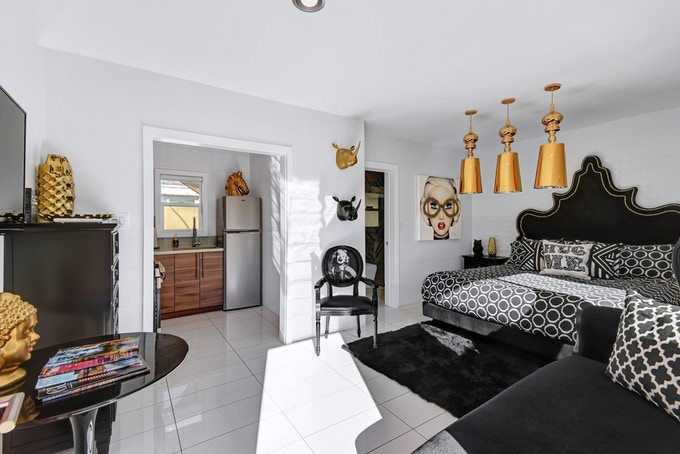 The Black and Gold Suite