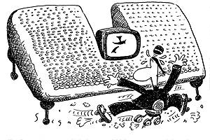 "2000 Cartoon Making Fun of a ""Chinese Computer"""