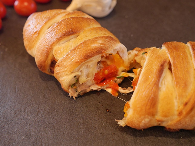 Makes a great pizza braid!