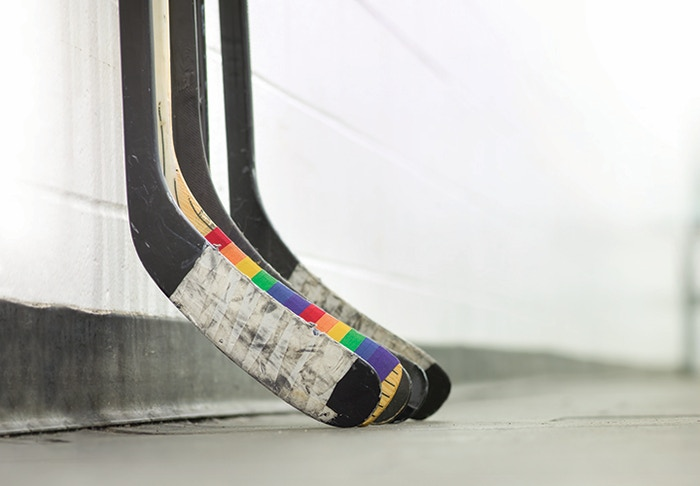 Pride Tape is a badge of support from the hockey world to show that all players are welcome on the ice.  Thank you for making it happen. Pride Tape is now available to order! For more information, visit pridetape.com