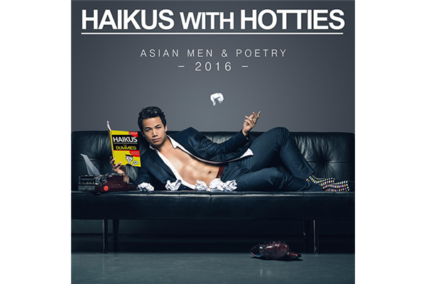 Copies of Ada Tseng's Haikus with Hotties calendar, signed by Randall Park!