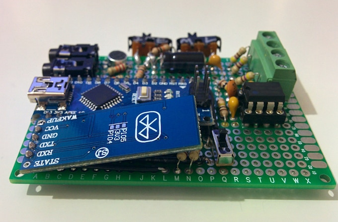 First Protoboard Prototype