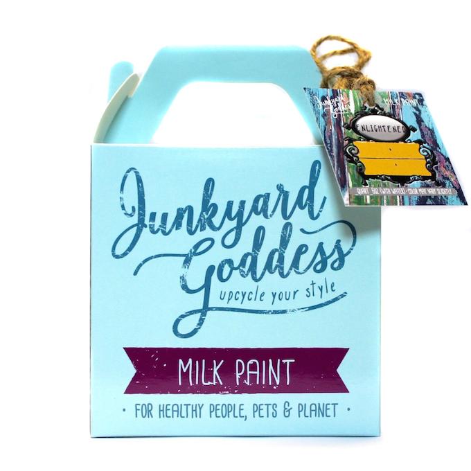 Junkyard Goddess Milk Paint in Enlightened