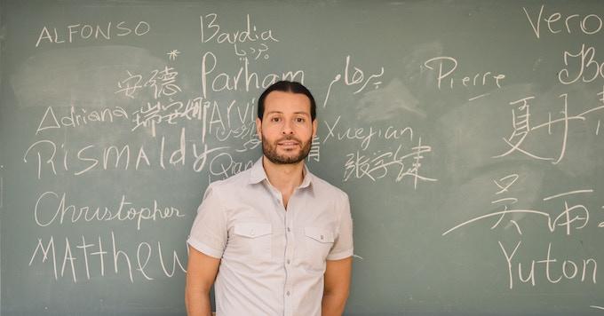 Alfonso Arzapalo, artiste du projet S'emplacer