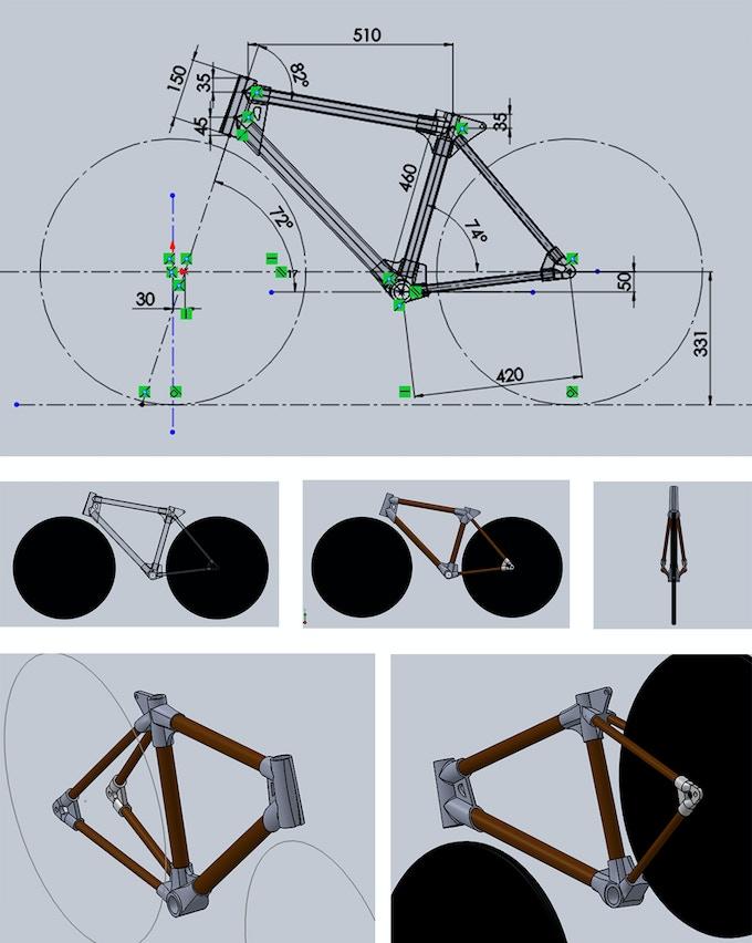 Design concept for 3d printer build plans