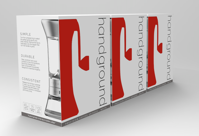 Early Handground packaging concept