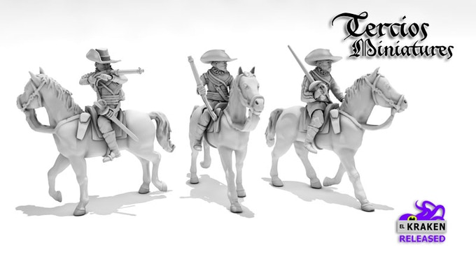 Harquebusier Cavalry Pack