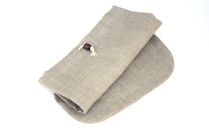 100% Linen Shoe Bag