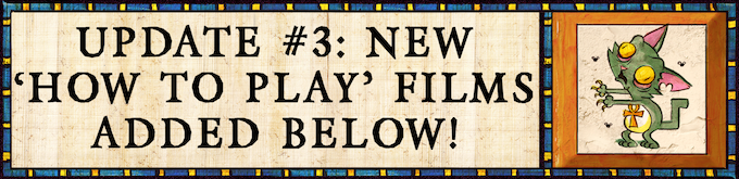 "News Flash March 8 -- please see our Designer-created ""How to Play"" videos below"