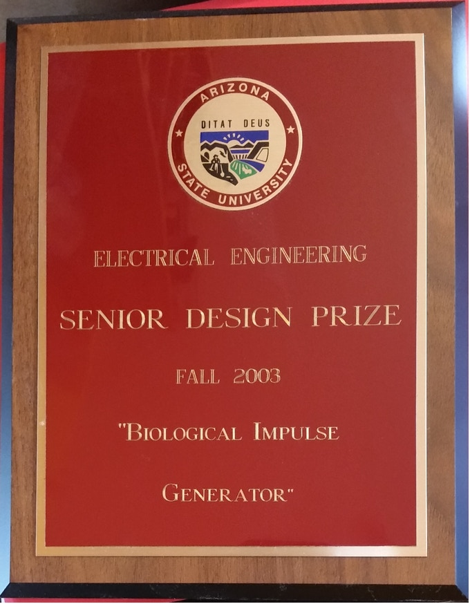 BIG engineering prize for my electroporator