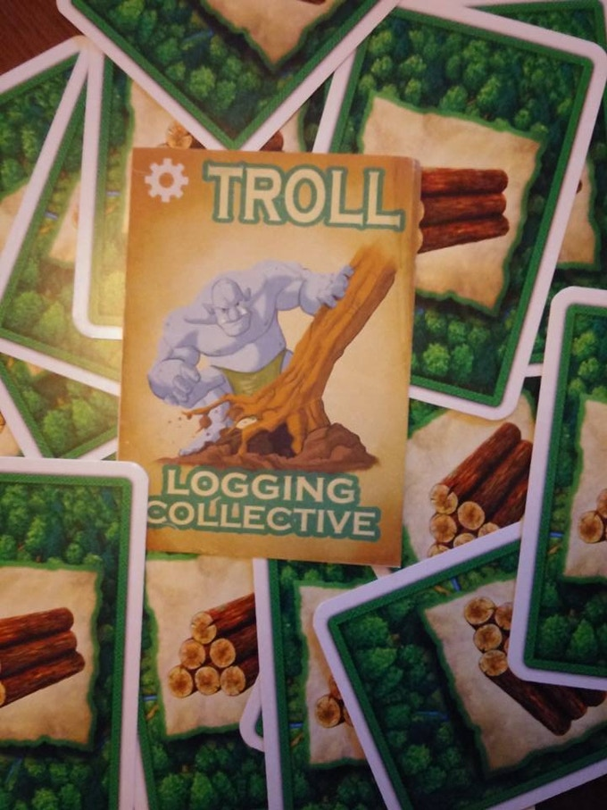 Trolls for the win - another card falls - TIMBER!