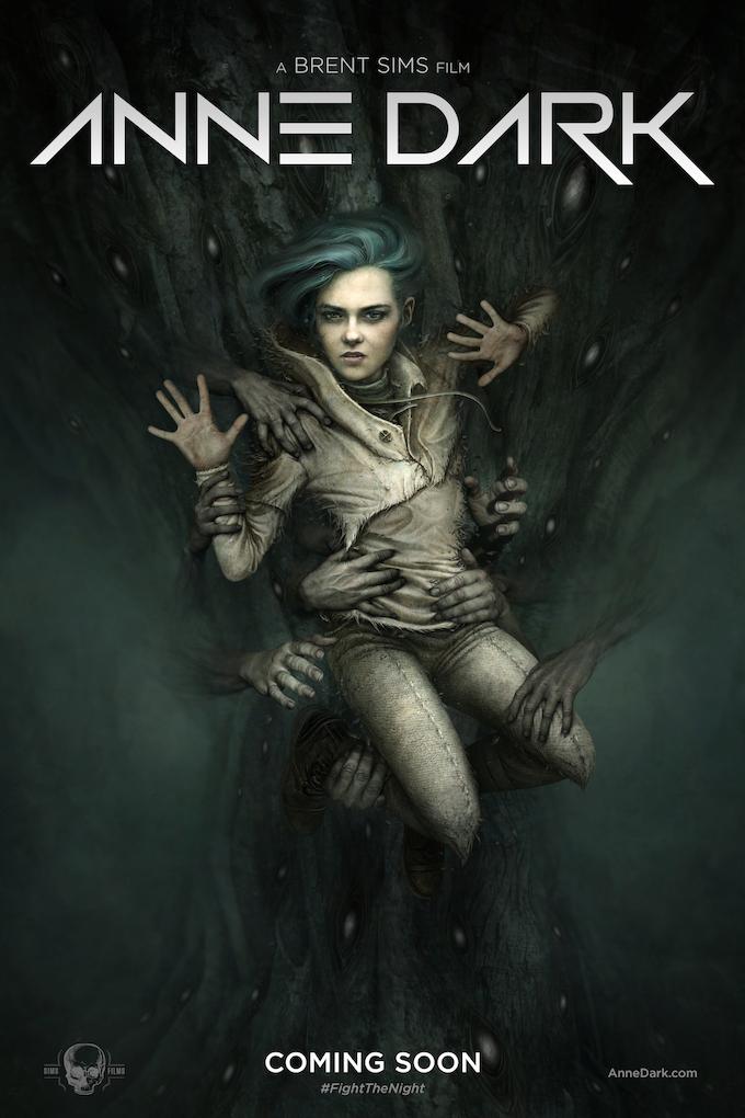 Anne Dark movie poster concept art. Reward #7 is an art print of this image.
