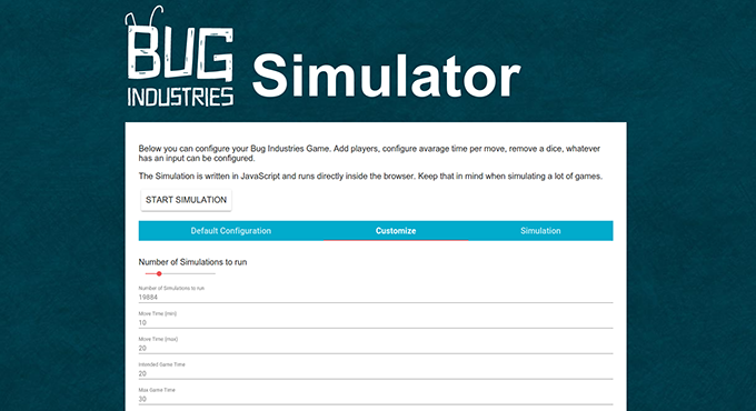 Check out the game simulation on our website.