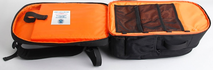iBackPack 2.0 is TSA compliant thus allowing your to quickly and easily move through security.