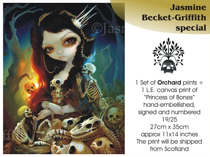 Jasmine Becket-Griffith special, €110 plus postage, already claimed