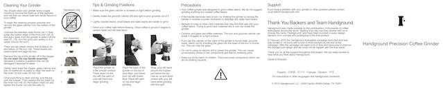 Side 2 of user manual