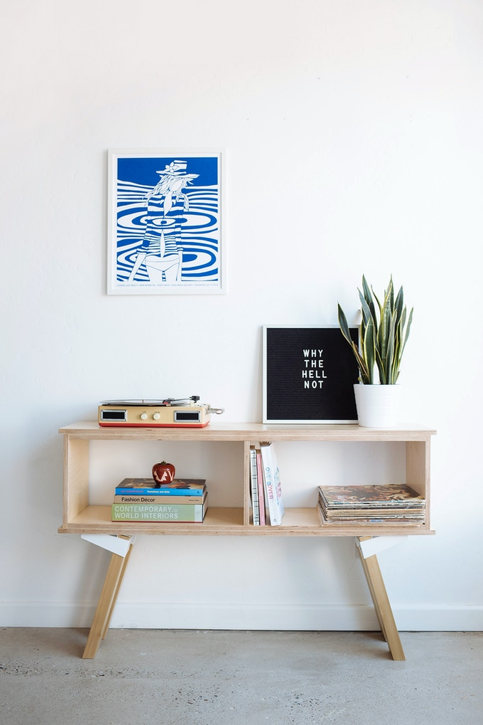 The UX4: An Incredibly Versatile DIY Furniture Kit By