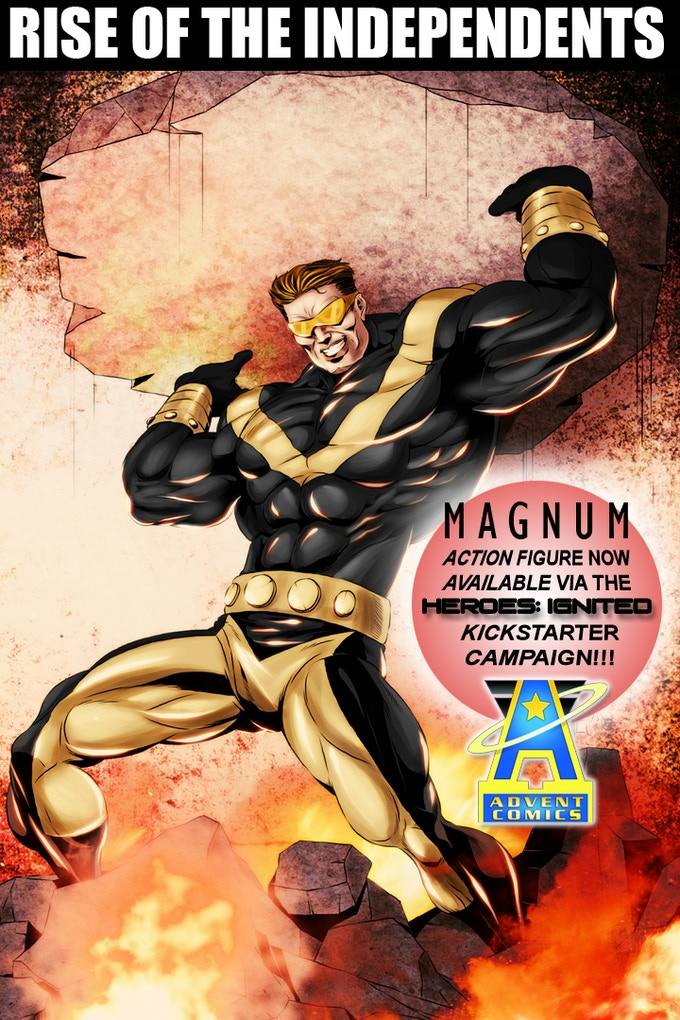 Magnum from Advent Comics