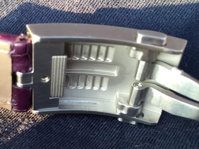 Fine-adjustable folding clasp