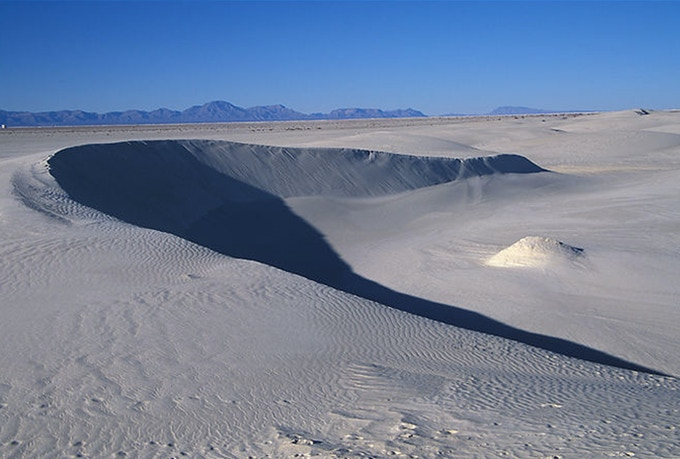 Barkan Dune - photograph by Radek Tezaur