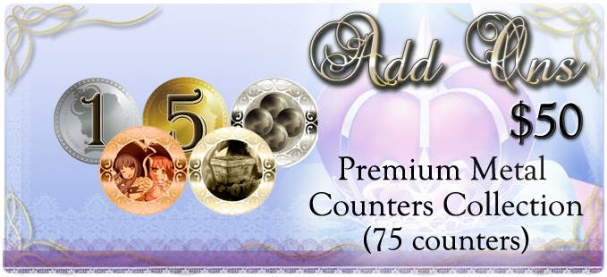 Premium Metal Counter Collection