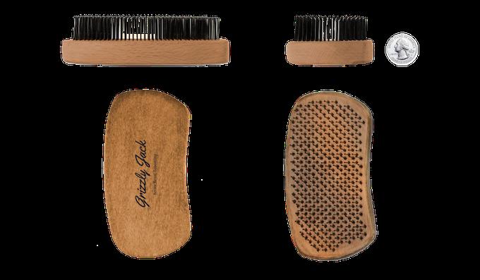MILITIA brush dimensions - pat. pend.