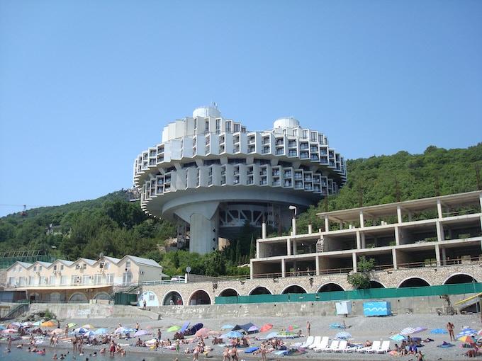 Druzhba sanatorium, Crimea