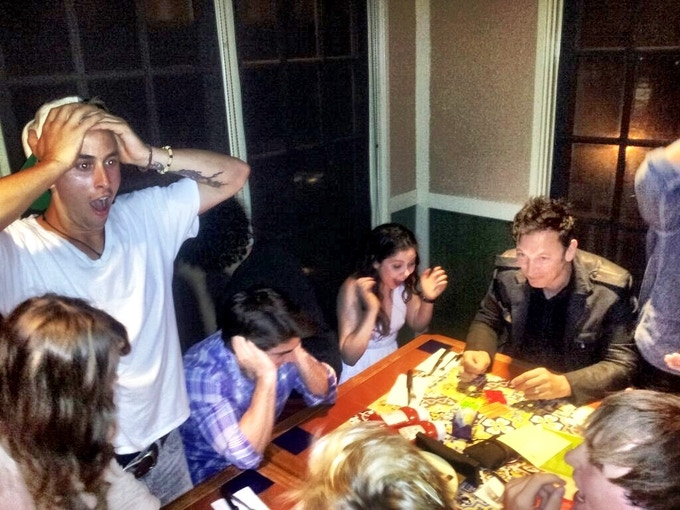 TEEN BEACH CAST PARTY, SECONDS LATER, IT'S GONE.