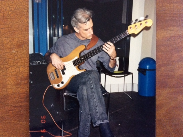 jeffrey's first solo bass performance
