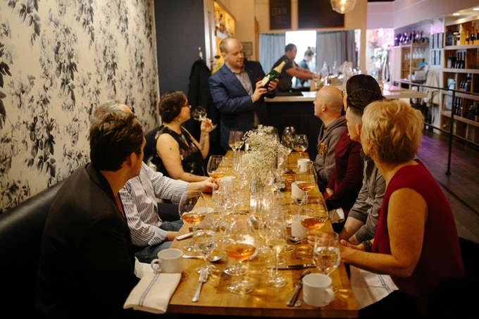 Past Medium Plus Event: Champagne Feature and Elegant Bites at Eden Hill