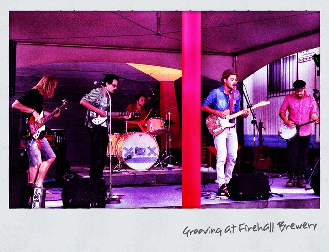 Great White North, Summer 2013, Firehall Brewery. Photo by Kim Lawton.