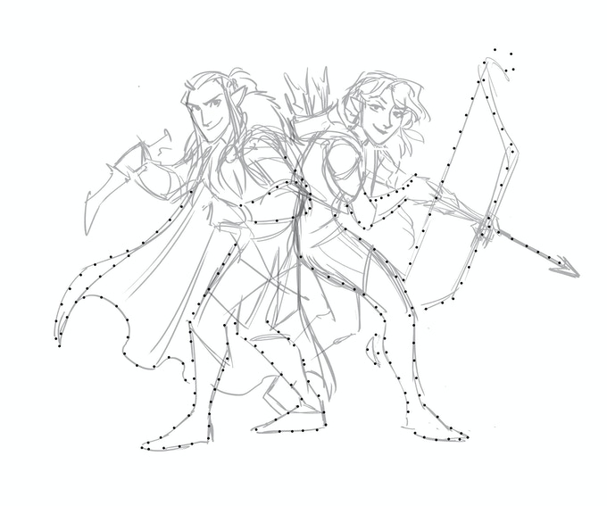 Connect the Dots to make Vex/Vax!  - *not final art