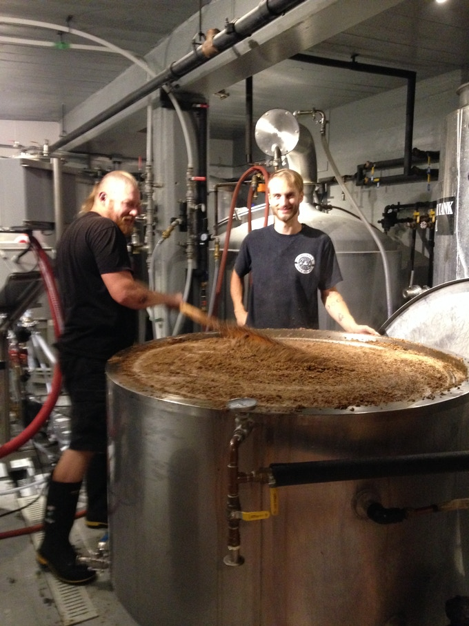 Joe & Sid. We brew beer for you! (...and us too of course)