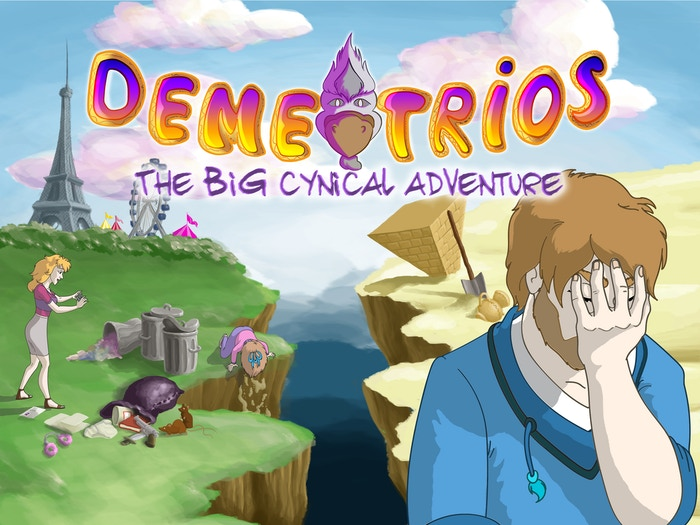 Point and Click adventure game. Cynical humor, handcrafted HD art in comic book style!