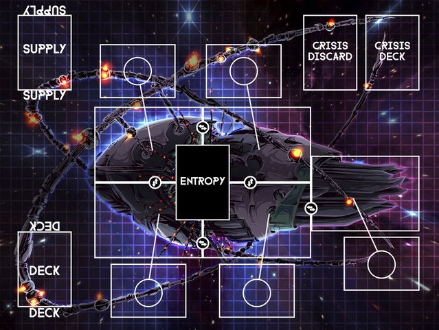 Outsider – A Sci Fi Card Game of Sabotage and Survival by
