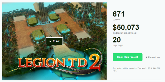 Legion TD 2 by AutoAttack Games » We made it!!! — Kickstarter