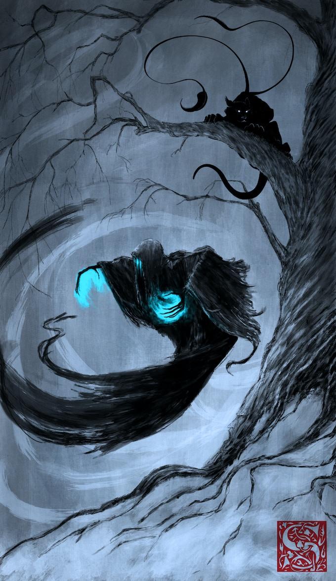 Path of Horror card art