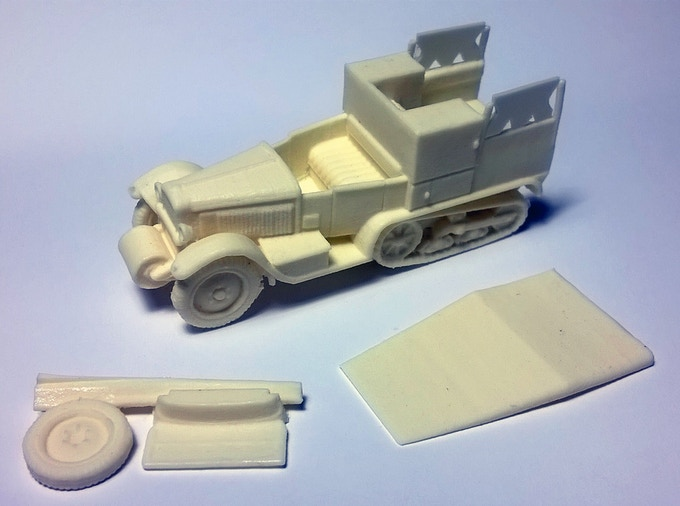 Citroen Kegresse P19 VDP 1/72 (20mm)